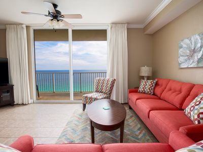 Photo for NEWLY UPDATED! Walk Out Onto Your Balcony & Take In the View of the Gulf!
