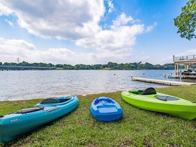 Photo for Bluebonnet Lodge - Come relax on Lake LBJ!