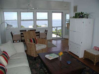cBay Living Room with outstanding Chesapeake Bay view.
