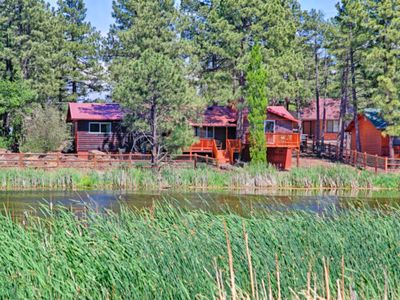 Photo for PEACEFUL WATER FRONT COZY CABIN-PETS WELCOME!!