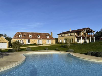 Photo for Domaine des Ravels, charming house, comfort, nature, calm and view