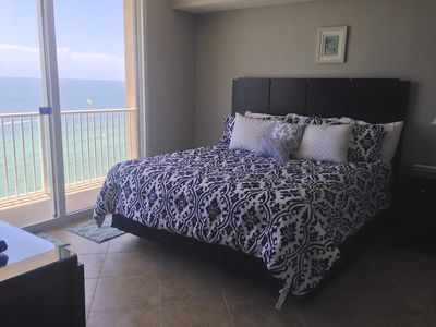 Gulf Front Master Bed Room