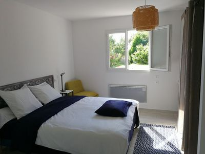 Photo for Beautiful new suite quiet, near beach, nature environment