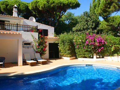 Photo for Spacious 3 bedroom villa with private pool. Well located in Vale do Lobo C512