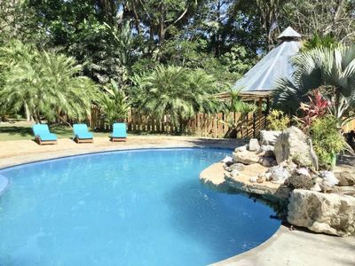 Photo for Amazing Jungle House near Beach with Pool