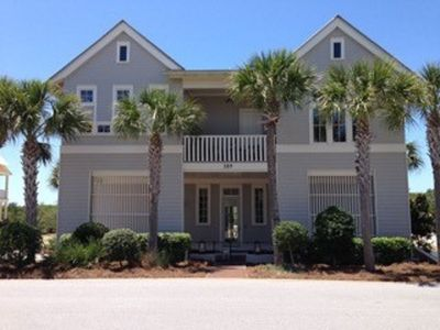Photo for Slice of Paradise on 30A Cypress Dunes: infinity pool, tennis, gym, gulf views.