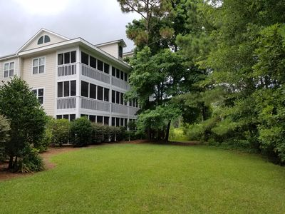 Photo for St. James Plantation Ground-Floor Villa, in Golfing and Water Front Community.