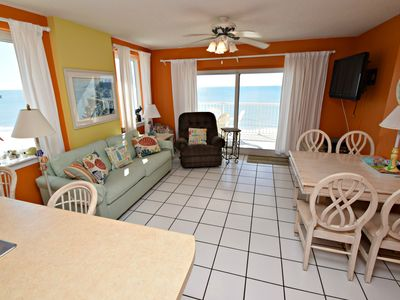 Gulf Front Corner Unit @ Royal Palms! Call today for the best SUMMER Vacation EVER!