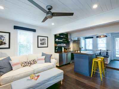 Photo for Authentic 1940's Folly Remodeled Beach Cottage