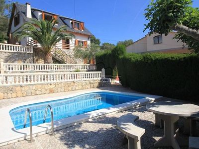 Photo for HOUSE FOR 6 PEOPLE - WITH PANORAMIC VIEWS - PRIVATE SWIMMING POOL - BARBECUE