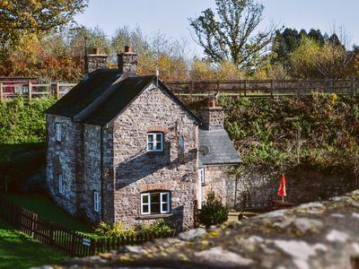 Photo for A canalside cottage, within Goytre Wharf on the Monmouthshire & Brecon Canal