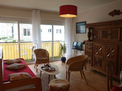 Photo for Apartment 375 m from the center of Carnac with Parking, Internet, Balcony (504334)