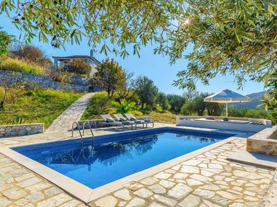 Photo for Villa Levanda: Large Private Pool, Sea Views, A/C, WiFi