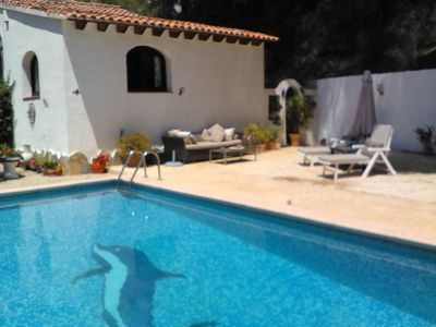 Photo for 1 Bedroomed Annex With Sole Use Of Private Pool and Terrace. No Other Guests.