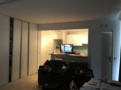Photo for Large furnished studio decorated by architect Paris 16th in the heart of Passy Paris 16th