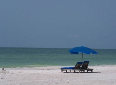 You are just steps away from this beautiful beach!