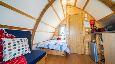 Photo for Ensuite Wigwam - One Bedroom Camping, Sleeps 4