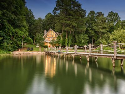 Photo for Updated Waterfront Chalet - Family Friendly with Optional Boat Rental!