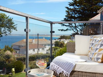 Photo for A stylish and fully refurbished duplex apartment with sea views from the balcony