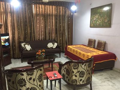 Photo for Beautiful flat in Hauz Khas  close to important land marks in NewDelhi