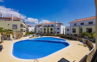 Photo for Luxury 2 Bed Apartment In O Pomar Holiday Village - Pool View, Balcony