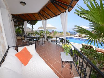 Photo for Spacious Villa With Private Pool And Panoramic Views Of The Bay And Its Islands