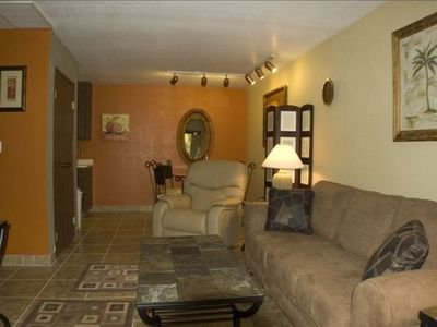Photo for Palm Springs Condo in Beautiful Garden Setting.  Close to Major Attractions.
