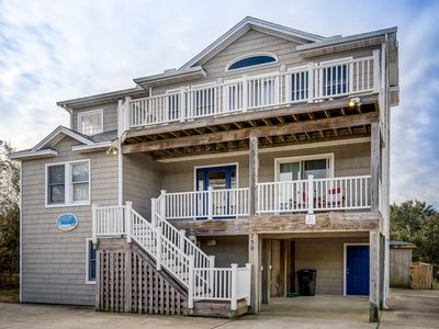 Photo for Beacon's Watch | 1800 ft from the Beach | Dog Friendly, Private Pool, Hot Tub