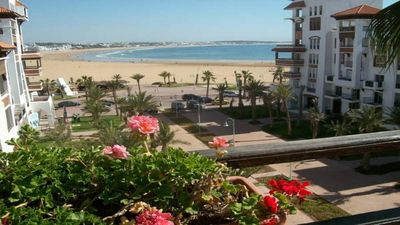 Photo for MARINA AGADIR 3CH APARTMENT TERRACE SWIMMING POOL FACING THE SEA