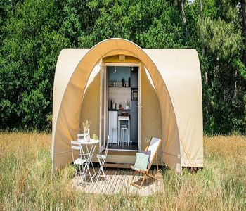Photo for Camping Domaine du Surgié **** - Coco Sweet 3 Rooms 4 People