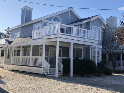 Photo for JUST four houses to the beach -  Close to town with everything that Avalon has to offer; restaurants, shopping, coffee shops, miniature golf, ice cream parlors, nightlife,