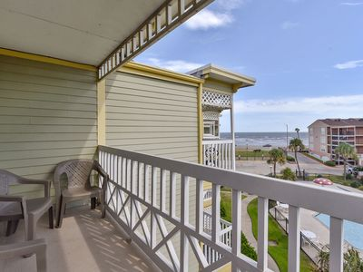 Victorian 3306-Beach View from this 3rd floor unit, 1/1, sleeps 6!