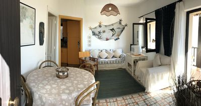 Photo for Vongola apartment in Alghero with air conditioning, private parking & balcony.