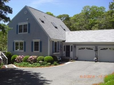 Photo for Waterfront Bass River Home, 4 bedrooms, 3 full bathrooms, Cen. AC
