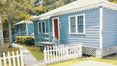 Photo for Friendship Cottages, (Flamingo) 3 blocks from the Pass Christian Beach