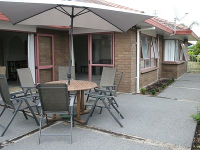 Photo for Large Family Home, walking distance to beach.