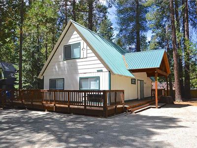Photo for Dog-friendly home w/ deck area and wood stove, about half a mile from the lake