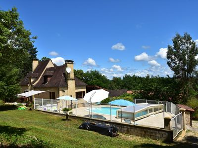 Photo for House with heatable pool near Sarlat-la-Canéda (14 km) and beautiful castles.