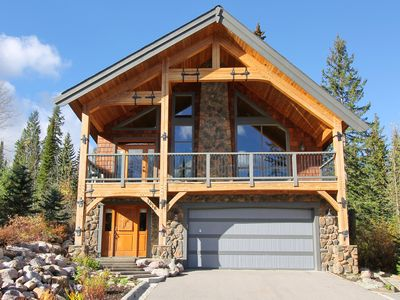 Photo for True Ski-in/Ski-Out Luxury Chalet at KHMr - 3 BR,3 Ba, Hot Tub, Heated Flrs
