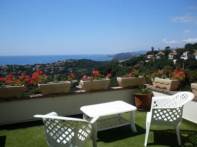 Photo for Lloret De Mar: Spectacular home with sea views and private pool
