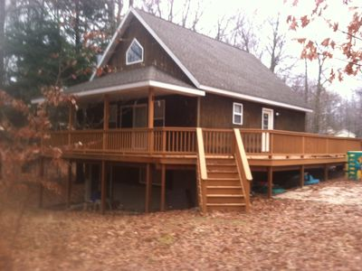 Photo for Silver Lake Access, Sleeps 15 with Central Air Conditioning
