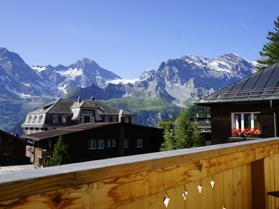 Photo for Glorious Luxury Summer holiday home or ski Chalet in Murren  - 5 star rating