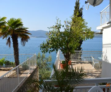 Photo for Insider tip: Coastal happiness in southern Dalmatia, BEACH HOUSE directly on the sea