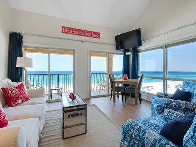Photo for Aug 10-17 Open! Beachfront~West End~2 King Msters~Pool~Free Beach Chairs
