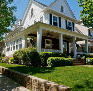 Our colonial home was built in 1922 and restored to pristine condition.
