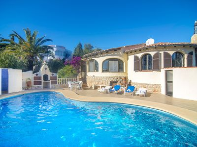 Photo for JOSE MARIE villa in the hills of Benissa, Alicante for 4 guests