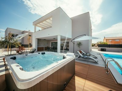 Photo for Modern Villa South, in Dalmatia, with a Pool