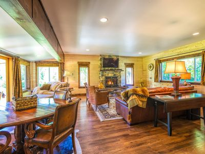 Photo for Warm and Inviting Riverfront Cabin Nestled on 630ft of Low Bank Yakima River