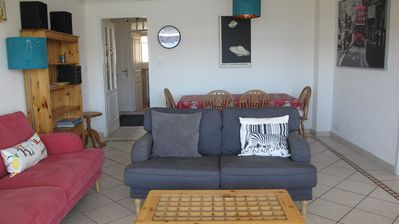 Photo for Fabulous family apartment with stunning views, well situated in Alpe d'Huez