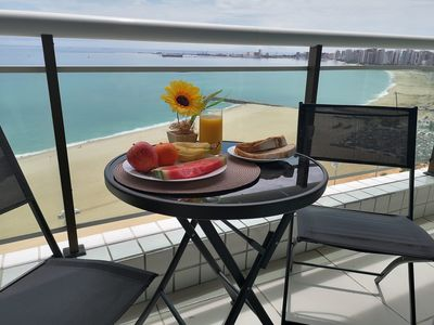 Photo for Modern Beachfront Apartment with Magnificent Seaview